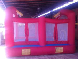 Colchon Inflable Infantil Cancha Baloncesto/futbol/voleibol