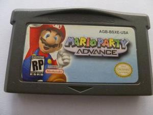 Juego Game Boy Mario Party Advance Gba