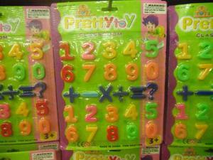 Juguete Didáctico De Números Con Imanes Para Niños