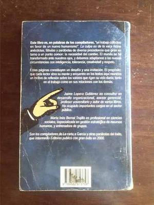 Libro De Reflexiones Y Lidereazgo La Culpa Es De La Vaca
