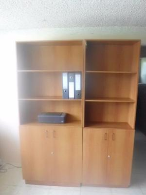 Modulo Tipo Biblioteca En Madera