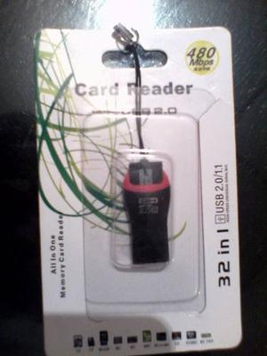 Pendrive Card Reader Writer Usb 2.0 A Micro Sd