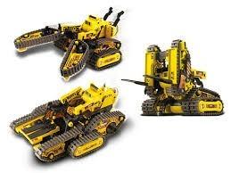 Robot Armable 3 In 1 All Terrain Control Remoto Alambrico