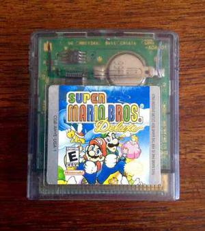 Súper Mario Bros Deluxe Para Game Boy Original