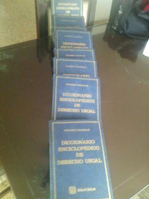 Enciclopedia Jurídica De Guillermo Cabanellas Diccionario