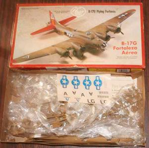 Fortaleza B-17, Modelo Escala 1/64 Sin Armar. Marca Lindberg