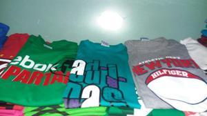 Franelas De Caballeros Talla S Adidas Nike Quiksilver