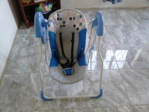 Mecedora Para Bebes Poco Uso Flying Azul Unisex