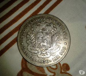 Monedas Plata 10 Bolívares y de 5 Bolívares de Coleccion