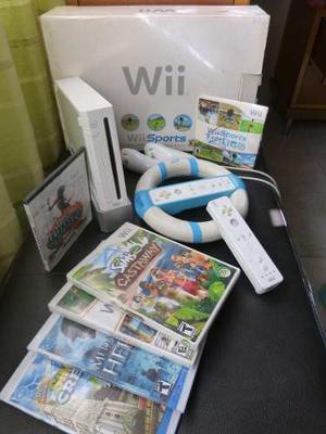 Nintendo Wii Con Todos Sus Accesorios Y Más!!!