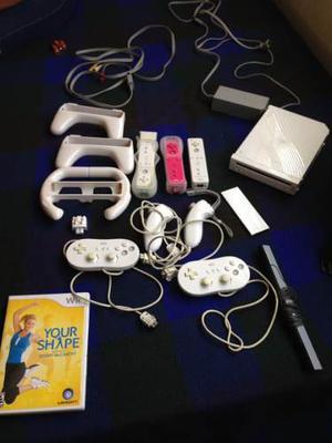 Nintendo Wii Controles + Juego