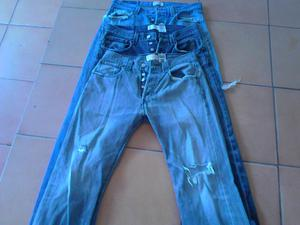 Pantalones Levis Rotos 501