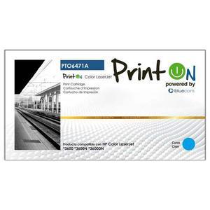 Printon Toner Ptoa Compatible Hp Cyan Laser Jet