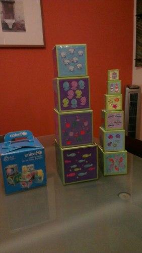 Set De Cubos Para Bebe