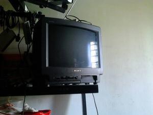 Tv Sony Trinitron 14 Con Entrada Audio Y Video