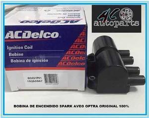 Bobina De Encendido Aveo Optra Spark Original Ac Delco