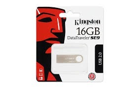 Pen Drive Kingston Datatraveler Se9 16gb Usb 2.0