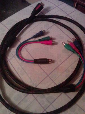 Cable Hdmi a Componente Rca, Mas Svideo