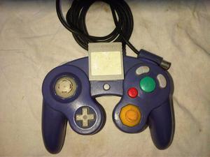 Control De Gamecube Original Y Memoria Card