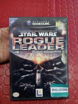 Juego De Game Cube Caja Y Manuales Starwars Rogue Leader