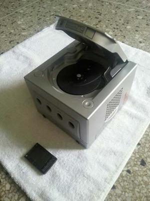 Nintendo Game Cube Chipeado 2 Controles 5 Juegos Y Memorycar