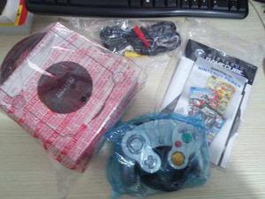 Nintendo Gamecube Intacto Con 1 Juego Y 1 Control En Su Caja