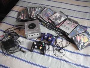 Nintendo Gamecube + Memoria + 46 Juegos Variados