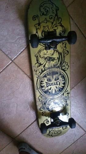 Patineta Marca Bullet Original Skateboard
