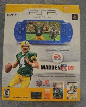Psp Limited Edition Nfl Madden Original