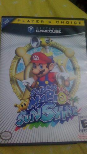 Super Mario Sunshine Juego De Gamecube