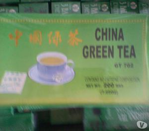 Vendo Té Verde Chino Green Tea 100% Natural