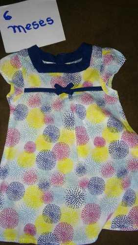 Vestiditos Carters Para Niñas Tallas 3 Y 6 Meses