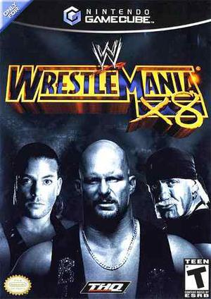 Wrestlemania X8 Para Nintendo Gamecube O Wii