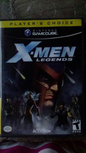 X-men Legends Juego Nintendo Gamecube Original Cómo Nuevo
