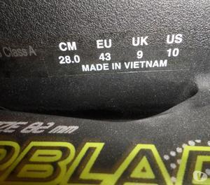 vendo patines nuevos de marca con su kit