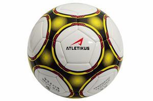 Balon De Futbol N5 Uranus Atletikus (blanco/amarillo)