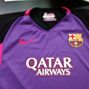 Camisa Visitante Del Barcelona Temporada