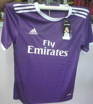Camisas Del Real Madrid Y Barcelona Visitante