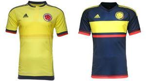 Camisas Franelas Seleccion Colombia Visitante Local