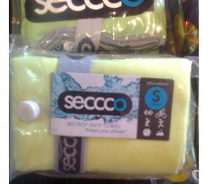 Toalla Microfibra Seccco Talla S 100% Original Sin Nutrilite