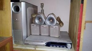 Home Teather Jvc De 5 Discos