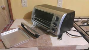 Horno tostador electrico black amp decker posot class for Horno electrico black decker