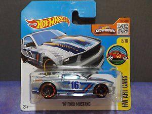 Hotwheels 07 Ford Mustang Hw Art Cars Nuevo Sellado