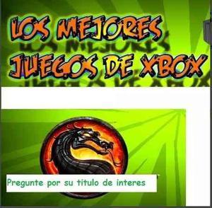 Juegos De Xbox Clasico