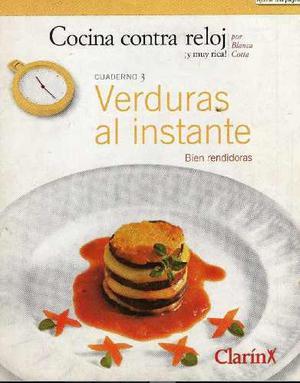 Libro Digital Escaneada - Cocina Casera - Verduras Al Instan