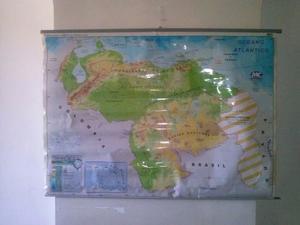 Mapa Fisico Y Politico De Vzla Gigante