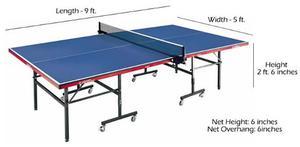 Mesa con estructura metalica posot class for Mesa de ping pong usada