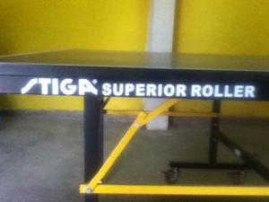 Mesa Ping Pong Stiga Superior Roller En Combo