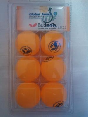 Pelotas Butterfly Ping Pong Tenis De Mesa
