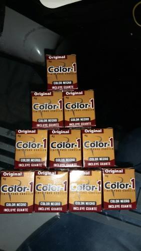 Pigmento Para Cejas Color1 Negro Al Mayor Y Detal
